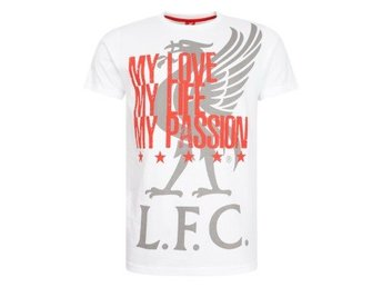 Liverpool T-shirt My Love Vit XXL