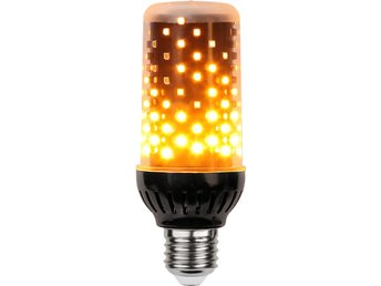 Flamelamp LED-Lampa E27 T45