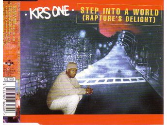 KRS One-Step Into A World (Rapture's Delight) / 4-låtars CDs