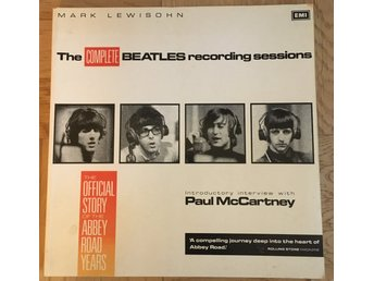 Beatles - The Complete recording sessions - Mark Lewishon