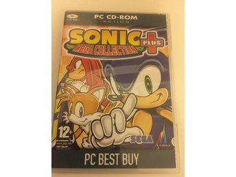 Sonic Mega Collection plus.Svensksåld