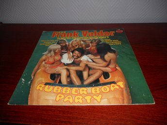 Frank Valdor - Rubber Boat Party (LP) nakenomslag EX/VG+