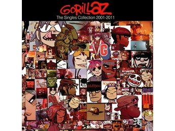 Gorillaz: The singles 2001-11 (CD)