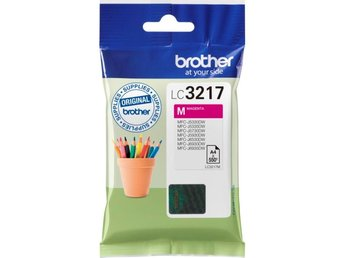 Brother LC3217M Magenta 550sid.