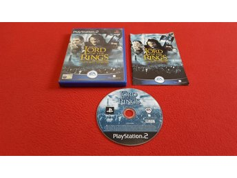 THE LORD OF THE RINGS TWO TOWERS till Sony Playstation 2 PS2