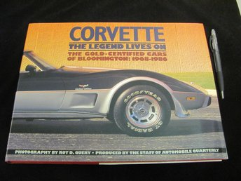 CORVETTE The Legend Lives On 1968-1986