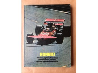 Ronnie Peterson, autograf i bok