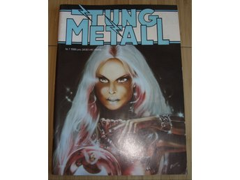 TUNG METALL NR 7 1988 Fint skick