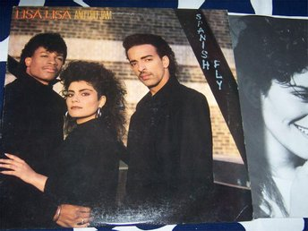 LISA LISA AND CULT JAM - SPANISH FLY LP 1987