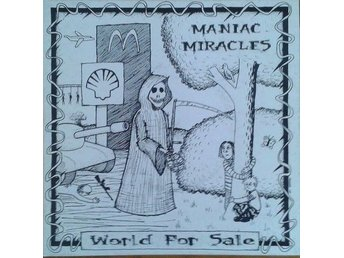 "Maniac Miracles  titel*  World For Sale* 7"" , Incl Insert"