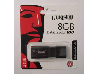 Kingston. Data Traveler. 8 GB. USB-minne. NYTT!