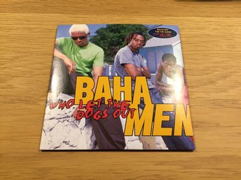 CD-singel - Baha Men - Who let the dogs out