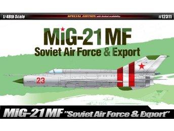 Academy 1/48 MiG-21 Soviet Air Force & Export - Skoghall - Academy 1/48 MiG-21 Soviet Air Force & Export - Skoghall