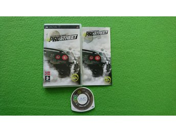 Need for Speed Pro Street Psp Playstation Portable