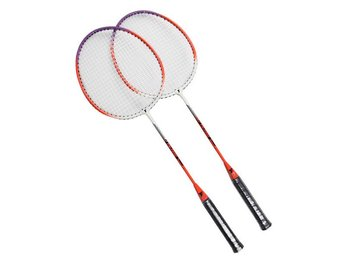 Ny Carbon Badmintonracket Badminton Röd