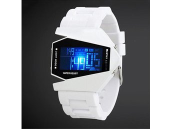 Stainless Steel Sport Digital LED Date Wrist DIAL Watch