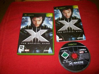 X-MEN THE OFFICIAL GAME (X-BOX)