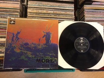 Soundtrack from the film More  Pink Floyd  Ovanlig LP  U.K.  E.M.I. Records 1969