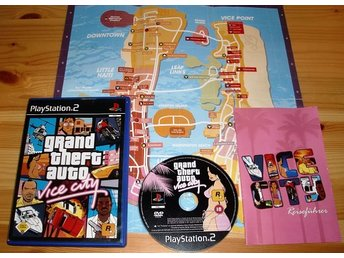 PS2: Grand Theft Auto Vice City