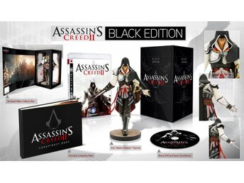 PS3 - Assassin's Creed II: Black Edition (Beg)