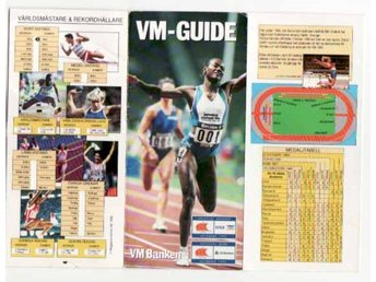 VM-Guide Fridrotts VM i Gbg 1995