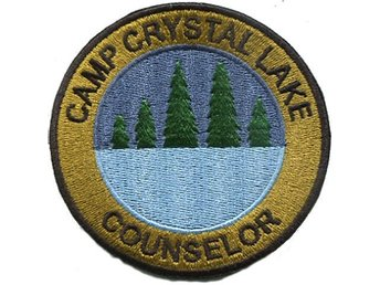 Friday The 13th: Camp Crystal Lake Counselor Official patch
