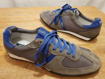 differently ad93f 0dee7 Sneakers Polo Ralph Lauren Jacory sportskor trainers str 45,5 helt nya