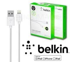 Belkin USB-laddare för iPhone 5, 5C, 5s, 6
