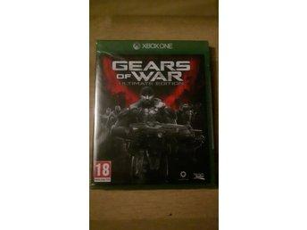 Javascript är inaktiverat. - ås - Jag säljer spelet Gear of War Ultimate Edition till Xbox One som är helt NYTT och OÖPPNAD! - ås