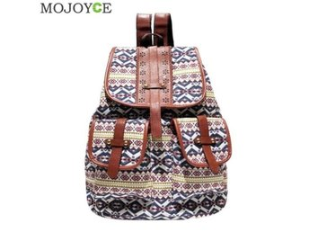 Javascript är inaktiverat. - Staffanstorp/dongguan - Brand Name: MOJOYCE Model Number: Vintage Printed Canvas Backpack Main Material: Canvas Decoration: Hollow Out Gender: Women Pattern Type: Geometric Backpacks Type: Softback Closure Type: String Lining Material: Polyester Capacity: - Staffanstorp/dongguan