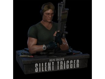 Silent trigger: Ltd Machine Gun-Bust (Blu-ray)