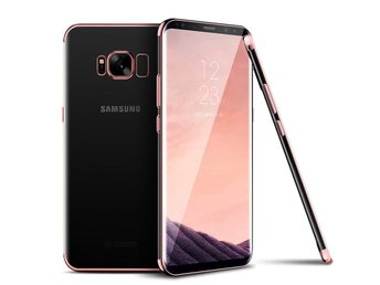 Samsung Galaxy Note 9  - Shockproof Slim Case Cover/Skal - Rose Gold
