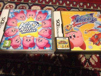 Kirby Mass Attack+Kirby Superstar Ultra+Kirby mouse attack