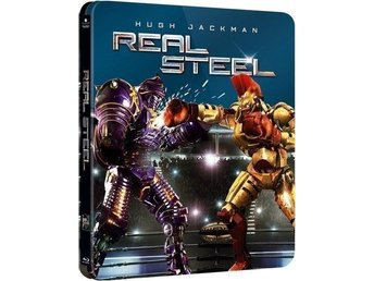 Real Steel - Limited Edition Steelbook Blu-ray