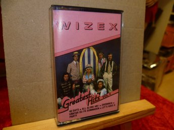 WIZEX , Musik-Kassett , GREATEST HITS Vol 4 , Utgivet 198?