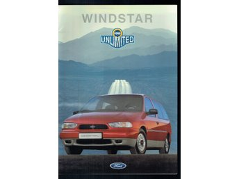 Ford Windstar unlimited 15 nr sidor (På svenska)