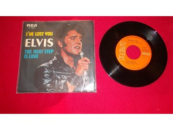 "Elvis Presley ""I`ve lost you"" singel"