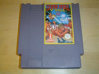 Super Spike V Ball Nintendo 8-Bit NES PAL-B