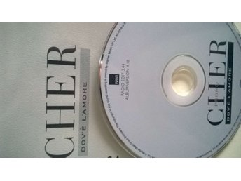 Cher - Dov'e L'Amore, single CD, promo, rare!