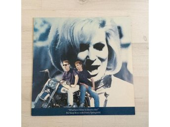 "PET SHOP BOYS / DUSTY SPRINGFIELD - WHAT HAVE I DONE TO DESERVE THIS. (MVG 12"")"