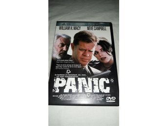 PANIC - WILLIAM H. MACY - NEVE CAMPBELL - SVENSK TEXT