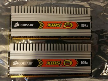 Corsair XM3 DHX 4GB DDR3 Ramminne