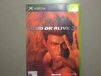 X-BOX  Dead or alive 3.