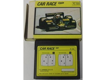Spelkassett/cartridge, PC-504 - Car Race GP/Course de Voitures GP