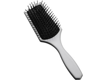 Paddle brush, silver mini