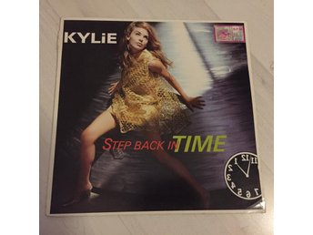 "KYLIE MINOGUE - STEP BACK IN TIME. (12"")"