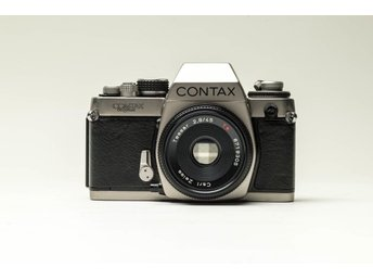 Contax  S2  60 Years med  Zeiss Tessar  45mm f/2.8