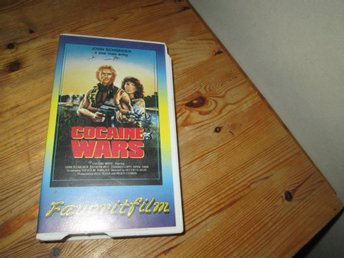 COCAINE WARS VHS JOHN SCHNEIDER FAVORITFILM