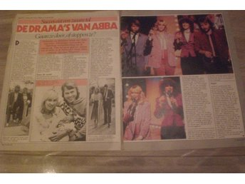 ABBA Rare Clippings Holland 1980