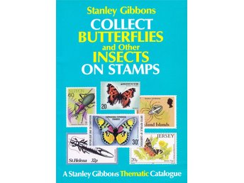 Fjärilar Stanley Gibbons Butterfly&Insects on stamps 1991 £12